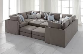 Comfortable Sectional Sofa Grey Contemporary Plastic Pillow Most Sofas And Design Decorating