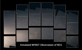 What Kinds Of Light Are These Telescopes Designed To Detect Simulated Image Demonstrates The Power Of Nasas Wide Field
