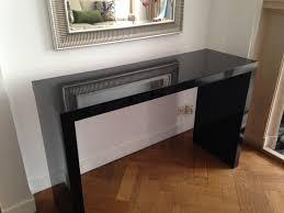 black hallway table. Black Hallway Table