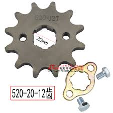 Us 1 82 37 Off Zongshen Loncin Lifan Kayo 250ccc Dirt Pit Bike Atv Quad Buggy Front Chain Sprocket 520 Chain 200cc Motorcycle Accessories Part In