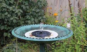 11 best solar birdbath fountains