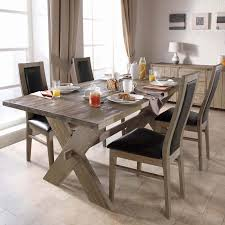 Make It A RusticModern DIY Dining Table  CurblyModern Rustic Dining Furniture