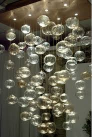 custom bubble chandelier from artisan crafted lighting chandelier home office lighting