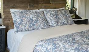 the painted paisley duvet cover