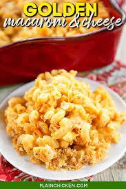 golden macaroni and cheese plain en