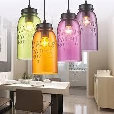 colored glass light fixtures lighting designs