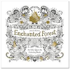 enchanted forest johanna s second color book