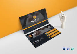 Double Sided Business Card Template Psd Double Sided Business Card