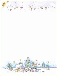 Christmas Letterhead Templates Word New 11 Best Photos Of Free