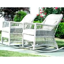 white wicker chair. Cool Wicker Porch Furniture White Outdoor Chairs Patio Rocking Chair .