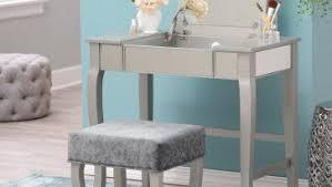 Simple Bedroom Vanity Table Design With Bedroom Makeup Vanity And