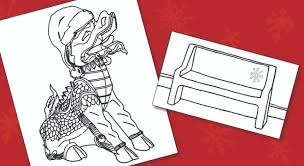 Winter coloring pages mean a lot of fun and many exciting possibilities: Enjoy Winter Coloring Pages Pacific University