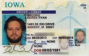 broox Driver's com License Derek New