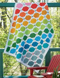 Rainbow Quilt - Fons & Porter | Rainbow quilt, Contemporary quilts ... & Rainbow Quilt - Fons & Porter Adamdwight.com