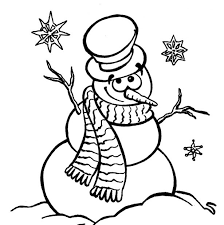 Small Picture Adult snowman coloring page Snowman Coloring Pages Online Snowman