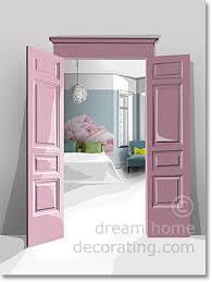 Romantic Sweet Pea Bedroom Palette