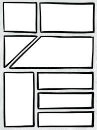 ic strip box panel template cartoon ilration stock photo of book word free templa