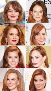 Is debra messing a natural redhead