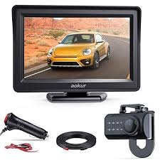 Amazon.com: aokur Backup Camera for Car/Truck/Pickup/Van/Camper, No ...