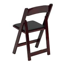 stylish padded wooden folding chairs fortable items for aabco s