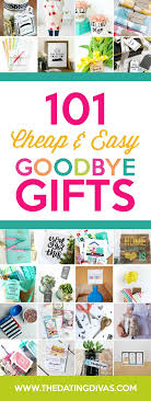 some diy and all affordable we re sure you ll find something that will make parting ways a whole lot better easy goodbye gifts
