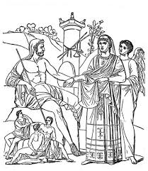 Small Picture Ancient Greek Gods And Greek Heroes Coloring Pages Dzrleathercom