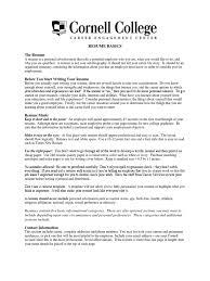 Resume Basics Resume Leadership