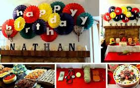 Small Picture Birthday Decoration Ideas at Home YouTube