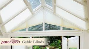 Electric Shaped Blackout Bottom Up Triangular Blinds By Niche Blinds Triangular Windows