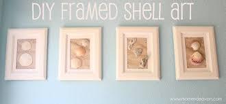 diy framed shell art jpg on diy wall art using picture frames with diy framed shell art