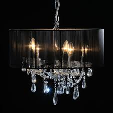 black contemporary chandelier black and brass chandelier long chandelier black crystal ceiling light