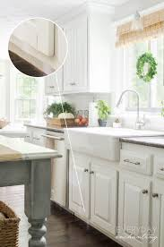 kitchen cabinets paintKitchen FAQs Our Painted Oak Cabinets Two Years Later