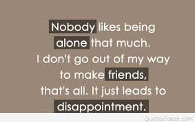 Sad Quotes About Friendship Sad hurt quotes 97