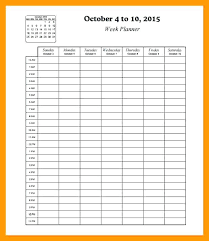 Weekly Planner Online Printable Daily Schedule Planner Online Free Weekly Schedule