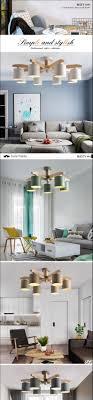 Großhandel Neue Led Kronleuchter Für Wohnzimmer Holz Glanz E27 Kronleuchter Beleuchtung Mit Lampenschirmen Esstisch Kronleuchter Küche Lampen Von