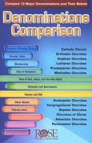 Denominations Comparison Pdf Download Download