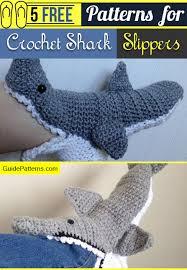 Crochet Shark Slippers Pattern Free Enchanting 48 Free Patterns For Crochet Shark Slippers Guide Patterns