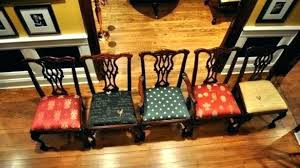 fantastic fabric dining room chairs target best for recovering