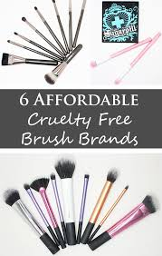 6 affordable free brush brands