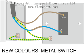 one way switched lighting circuits Double Gang Box Wiring one way metal switch connections, double gang box wiring