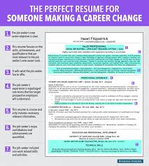 Charming Decoration Career Change Resume Template Career Change