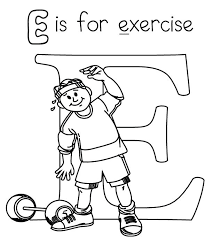 Small Picture Printable Coloring Pages Exercise Coloring Coloring Pages