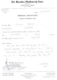 Fake Doctors Note Template Free Doctor Excuse Sick How To Forge A