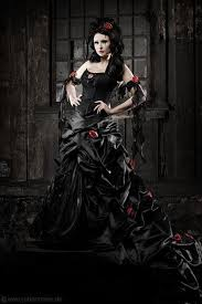 Pin by Ashley Spradley on colour inspirations | Gothic wedding dress,  Gothic victorian dresses, Black wedding gowns