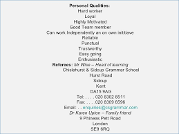 resume attributes personal attributes on a resume fluently me