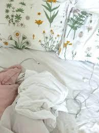 ikea linen bed linen duvet covers toddler bed comforter home accessory fl bedding duvet pillow pillow