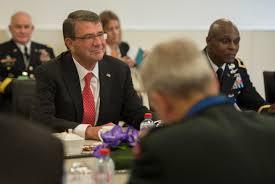 u s department of defense photo essay u s defense secretary ash carter meets nato secretary general jens stoltenberg at nato headquarters in