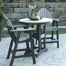 bar height patio bistro set counter height outdoor table cool patio furniture with bar height patio