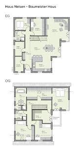 Grundriss Einfamilienhaus Mit Garage 6 Zimmer 220 Qm Wohnfläche