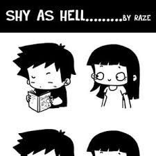 Shy As Hell by raze - Meme Center via Relatably.com